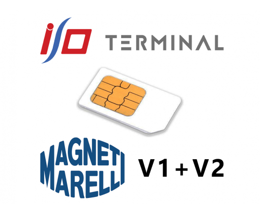 Option IO terminal magneti marelli V1 +V2