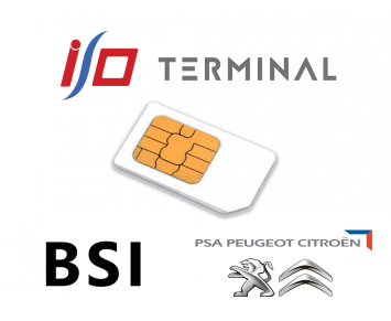 Option IO terminal BSI PSA