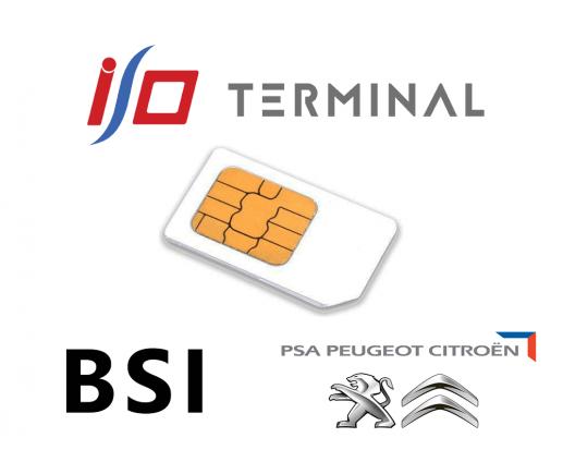 Option IO terminal BSI PSA