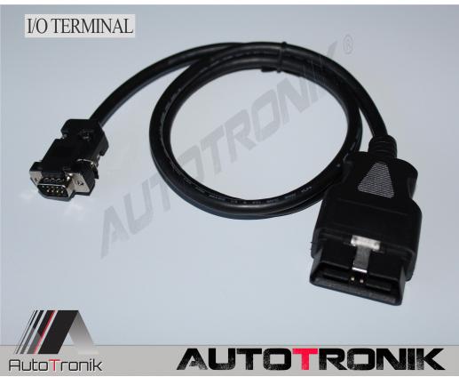 Cable OBD IO terminal