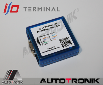 PACK IO terminal interface PSA BSI