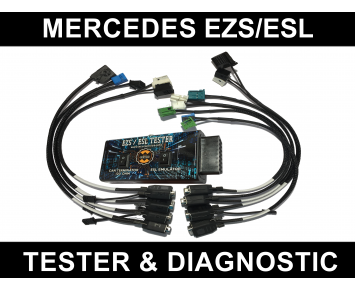 Mercedes, VW Crafter EZS ESL Tester + Diagnostic