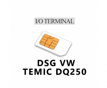 Option IO terminal DSG + easytronic