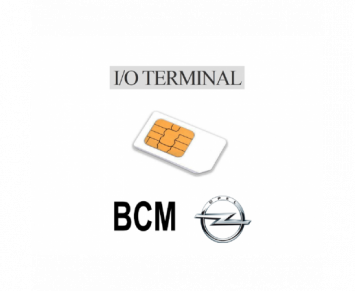 Option IO terminal BCM Opel